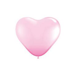 6インチハート ピンク