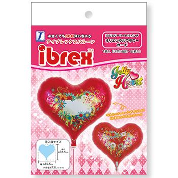 ibrex ジェリーハート  オリエンタルフラワー カード