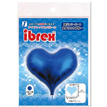 ibrex14インチ ジェリーハート メタリックブルー