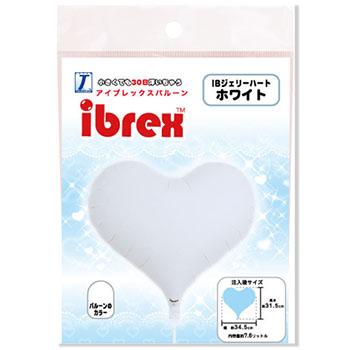 ibrex14インチ ジェリーハート ホワイト