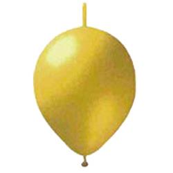 つながるバルーン メタリックゴールド