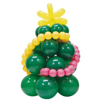 バルーンで作ろう!クリスマスツリー