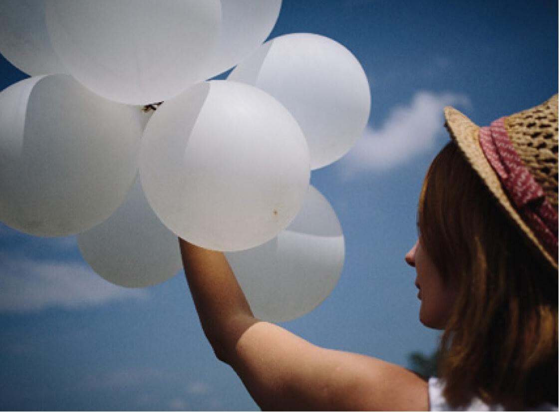 ヘリウム風船の浮く時間と浮力