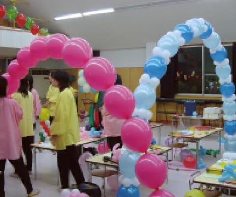 幼稚園・保育園でのバルーンスクールの画像-2