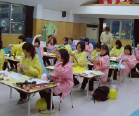 幼稚園・保育園でのバルーンスクールの画像-3