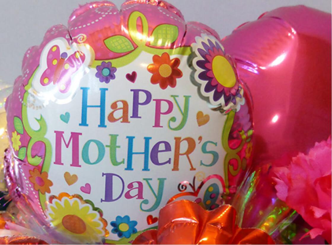 母の日のプレゼントアイデア。バルーンはいかが?