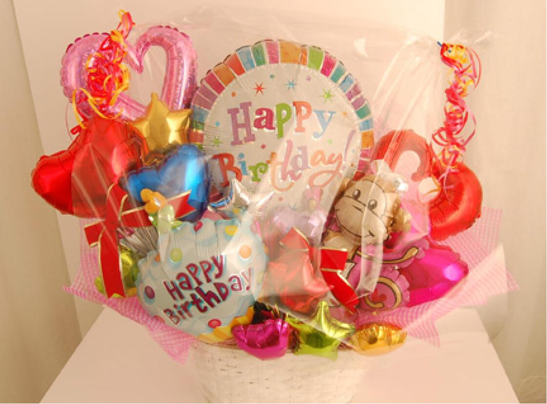 誕生日にはかわいいバルーンをプレゼント!