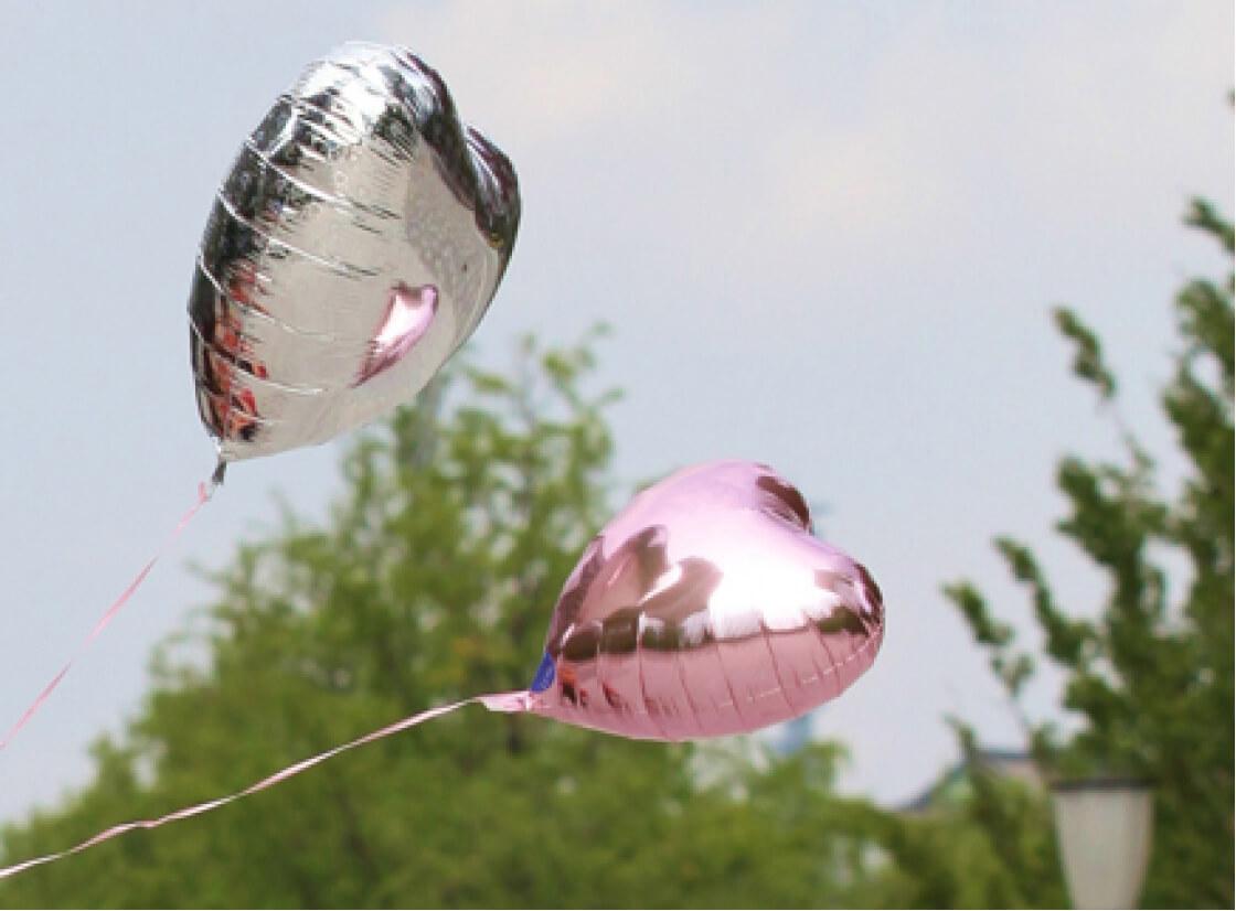 100個の風船を膨らませたい!ヘリウムガスの必要量はいくつ?