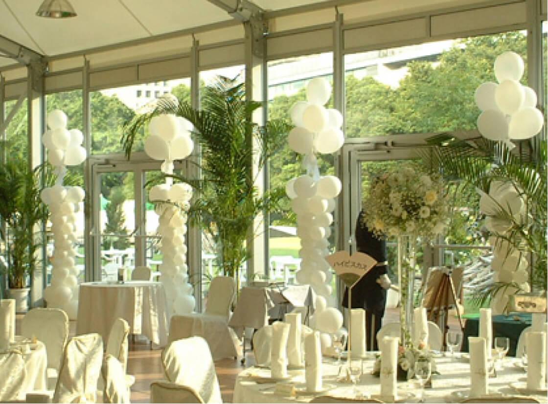 結婚式の装飾はバルーンで華やかさをアップ!