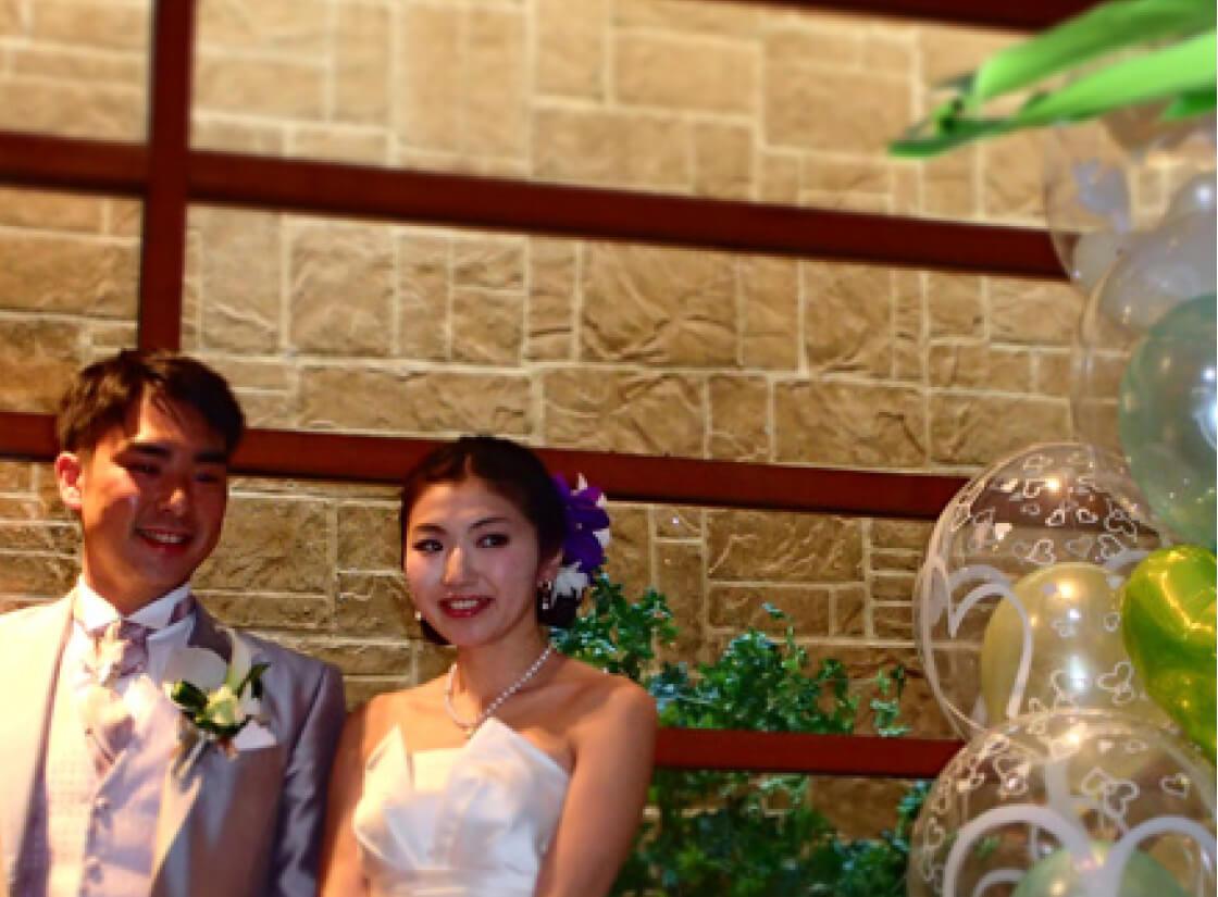 バルーンで送ろう!結婚式の電報おもしろアイデア