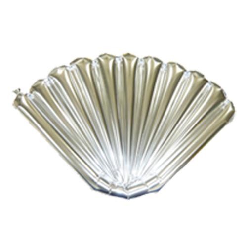 扇バルーン銀