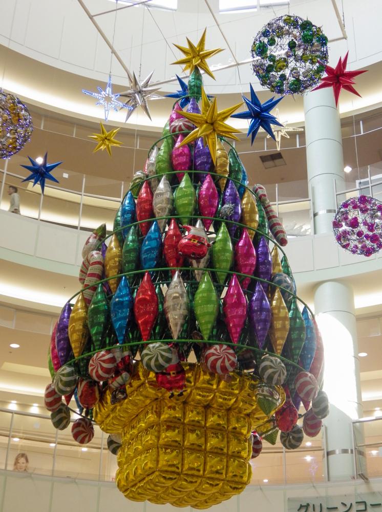 クリスマス装飾-吹き抜け01_大