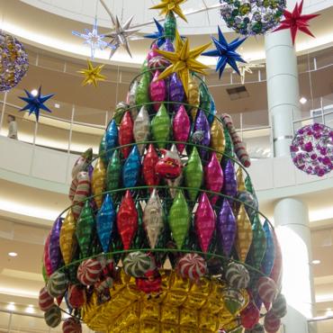 クリスマス装飾-吹き抜け01_小