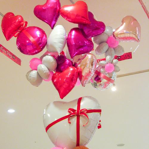 バレンタイン装飾-フォトスポット
