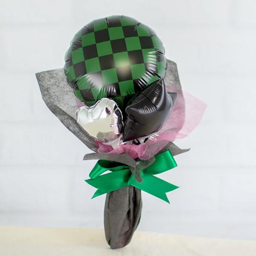 入学・入園のお祝いに、縁起の良い和柄バルーンブーケを