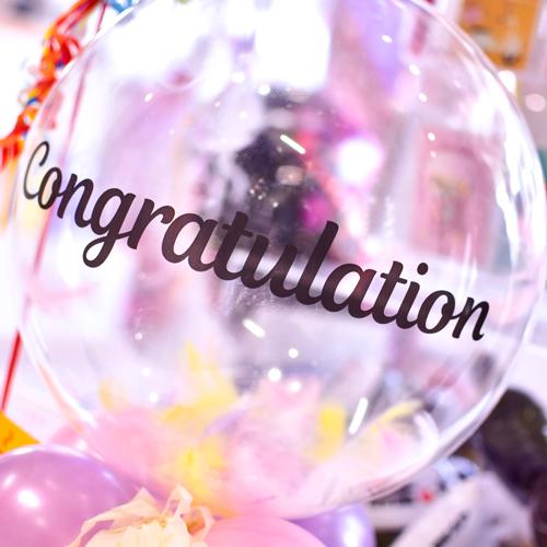 卒業・卒園のお祝いにおすすめ♪ バルーンアレンジ